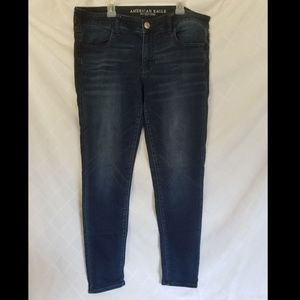 American Eagle Super Low Jeggings Size 12